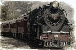 photo of steam train