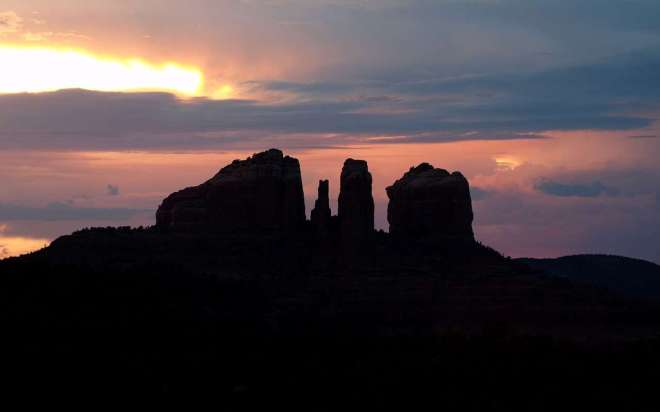 sunset-in-sedona